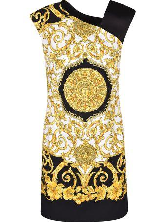 Versace Barocco Print Dress