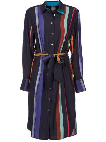 Paul Smith Brush Stripe Printed Coat