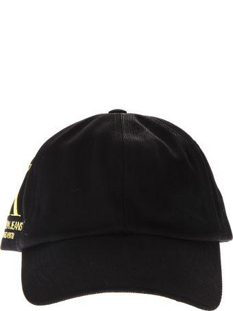 Calvin Klein Jeans Ck Est. Black Cotton Hat
