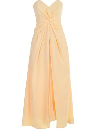 self-portrait Dress Yellow Twist