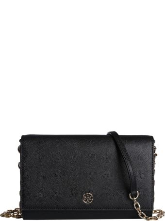 Tory Burch Robinson Wallet With Chain