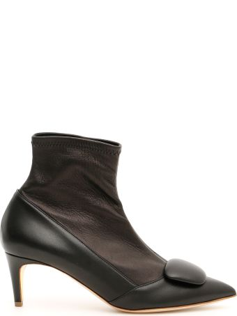 Rupert Sanderson Stretch Nappa Glynn Boots