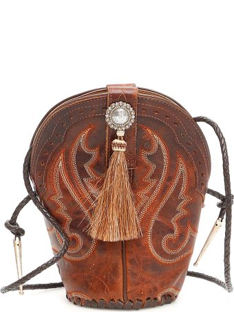 Jessie Western Vintage Mini Boot Bag