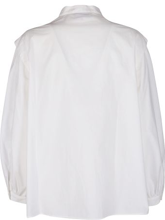 Maison Flaneur White Cotton Shirt