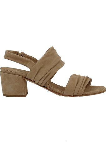 Roberto del Carlo Woman's Beige Suede Sandals
