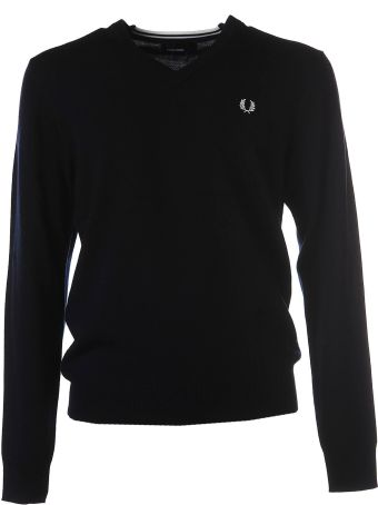 Fred Perry V Neck Jumper