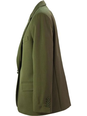 The Attico Military Green Blazer Jacket