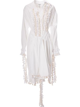 Loewe Tassel Embellished Shirt Dress