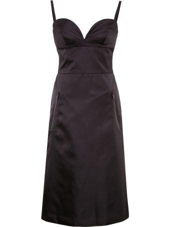 Prada Linea Rossa Nylon Gabardine Dress