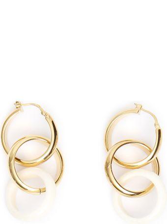Bottega Veneta Bone Earrings