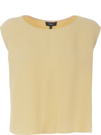 Theory Cady Straight Fit Top