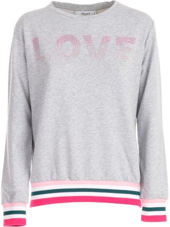 Blugirl Love Print Sweatshirt