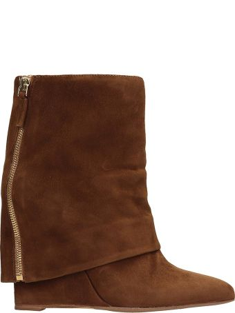 The Seller Brown Suede Ankle Boots
