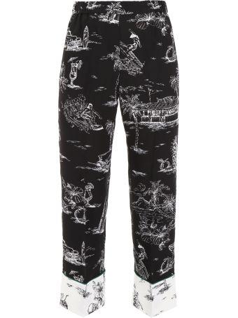 N.21 Printed Pyjama Pants