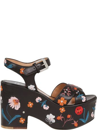 Laurence Dacade Floral Sandals