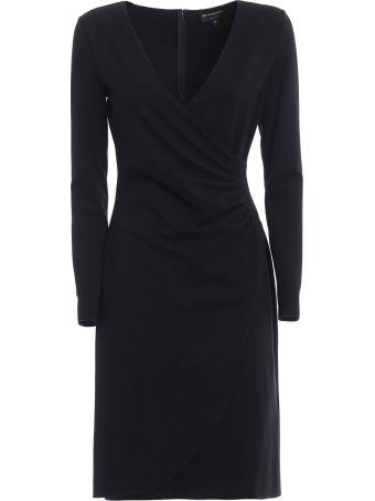 Emporio Armani Wrap Front Dress