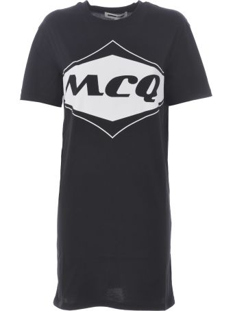 McQ Alexander McQueen Logo T-shirt Dress