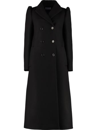 RED Valentino Wool Blend Double-breasted Coat