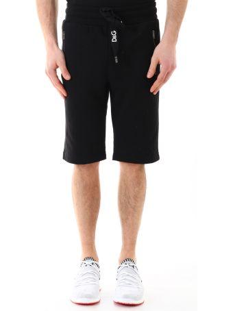 Dolce & Gabbana Bermuda Shorts Black