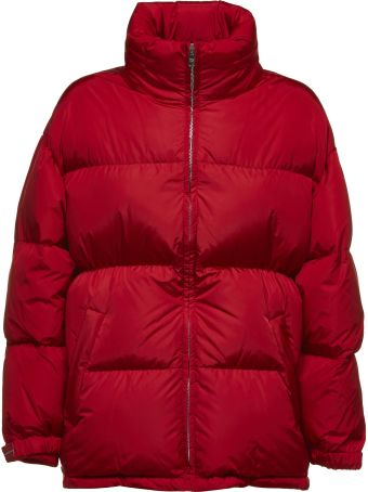 Prada Linea Rossa Turtle Neck Padded Jacket