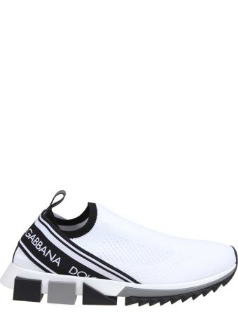 Dolce & Gabbana Sneakers Sorrento With Logo Color Black / White