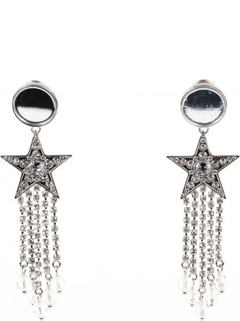 Miu Miu Stars Earrings With Crystals