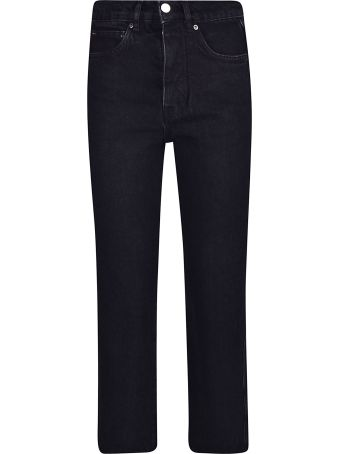 Victoria Beckham Cropped Bootcut Jeans