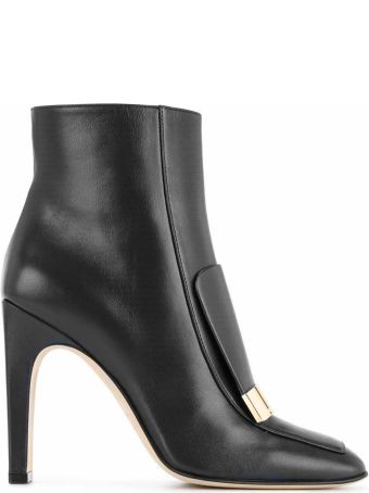 Sergio Rossi Sr1 Leather Booties