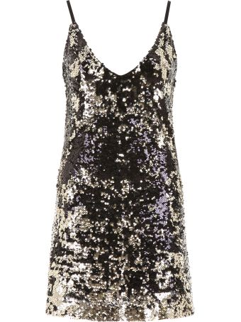 In The Mood For Love Sequins Mini Dress