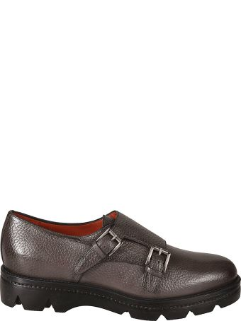 Santoni Classic Monk Shoes