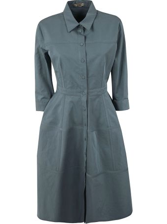 Bottega Veneta Flared Shirt Dress