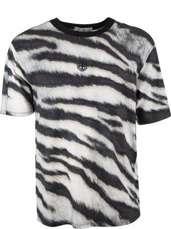 Stone Island Zebra Print T-shirt