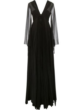 Capucci Long Pleated Dress