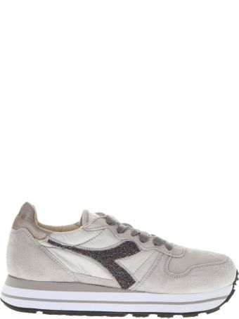 Diadora Heritage High Light Grey Suede Sneaker