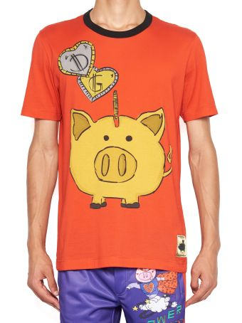 Dolce & Gabbana 'piggy Bank' T-shirt