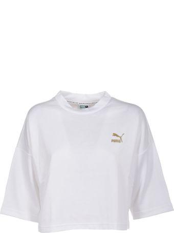 Puma Cropped Logo T-shirt