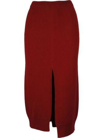 Mrz Asymmetric Skirt