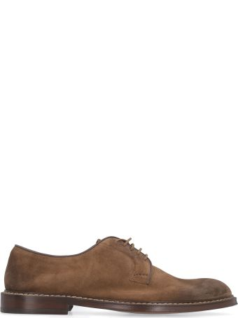 Doucal's Suede Lace-up Shoes