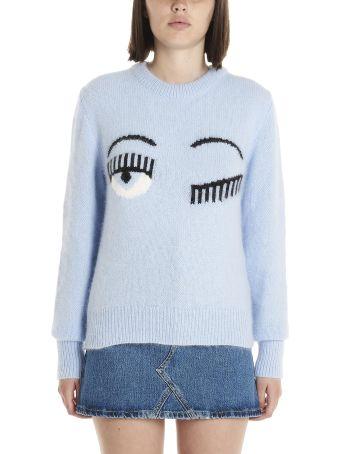 Chiara Ferragni 'eyes' Sweater