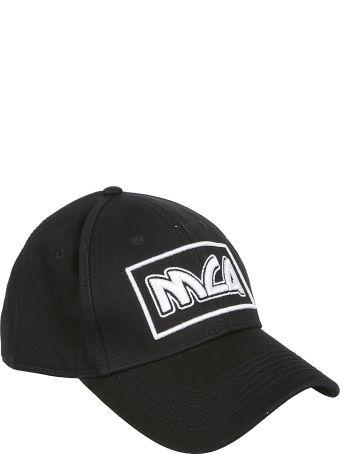 McQ Alexander McQueen Logo Embroidered Cap