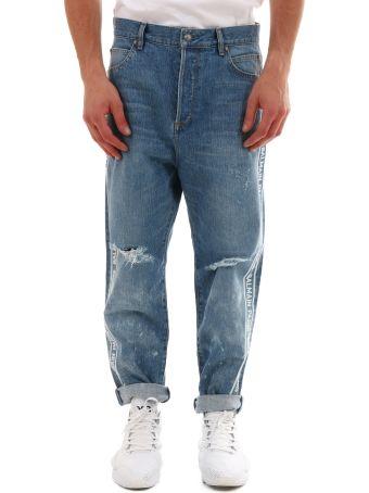 Balmain Logo Jeans