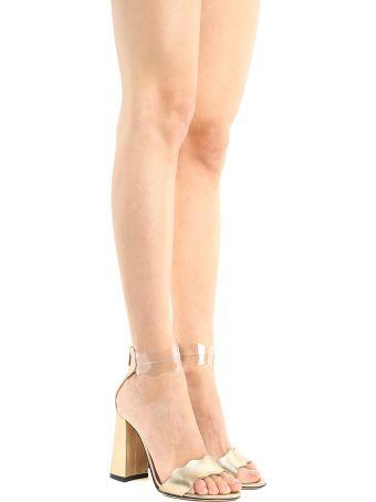 Marskinryyppy Piwi Laminated-leather And Pvc Sandals