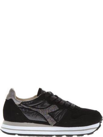 Diadora Heritage Black Suede Sneakers