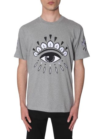 Kenzo Eyes-embroidered T-shirt