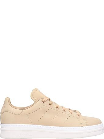 Adidas Stan Smith New Bold Pink Suede Leather Sneakers