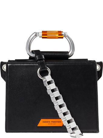 HERON PRESTON Carabinier Leather Bag