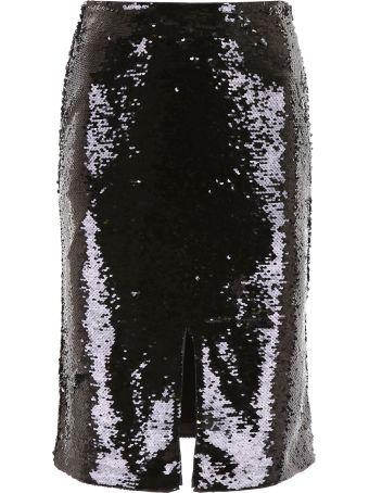 Ganni Sequins Skirt