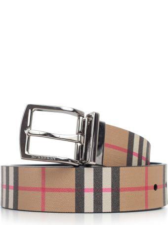 Burberry Reversible Vintage Checked Belt