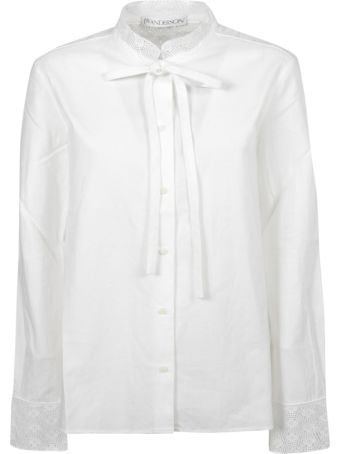 J.W. Anderson Jw Anderson Lace Trim Shirt