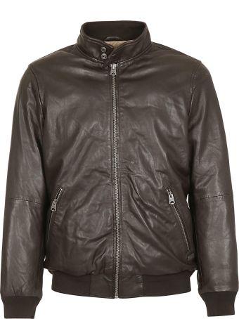 Chevignon Zip-up Leather Bomber